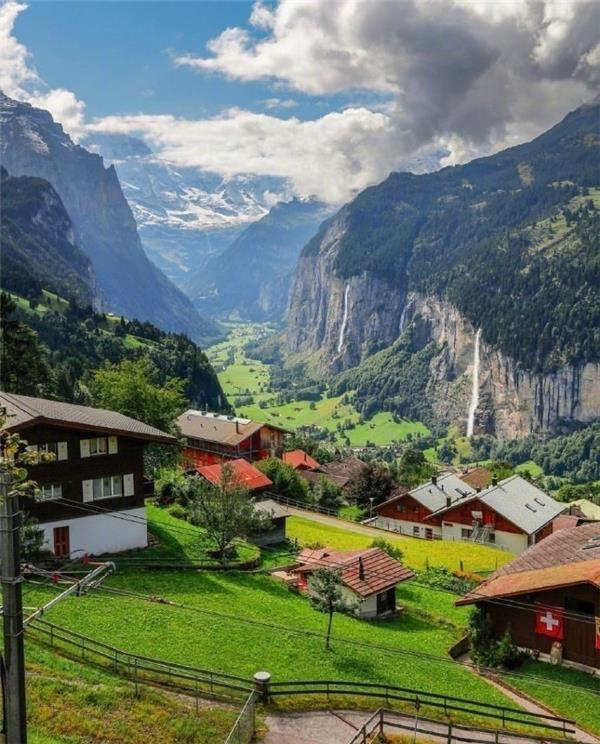瑞士的春天