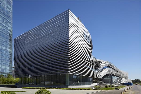 远景嘉信摄影作品 大众汽车研发中心大厦