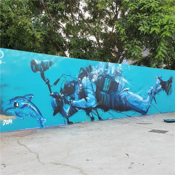 #涂鸦 #城市涂鸦 #墙上涂鸦