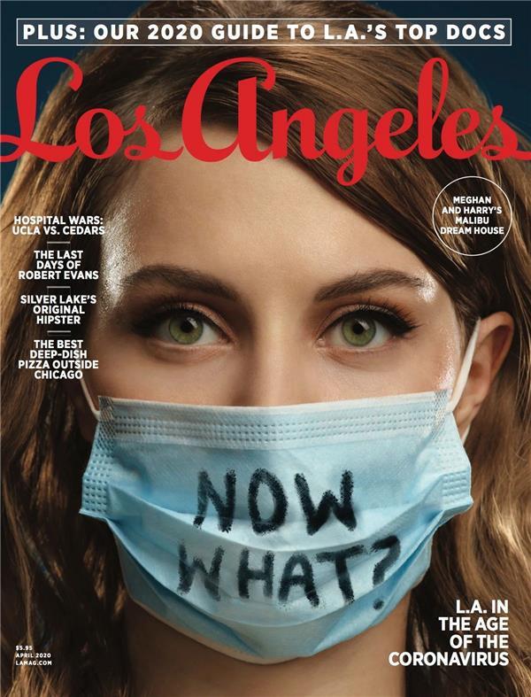 《洛杉矶杂志》封面