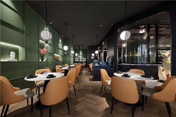 深圳餐饮设计·餐厅设计·主题餐厅设计「艺鼎新作·星美聚」新加坡风餐厅