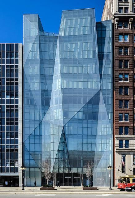 大玻璃建筑立面