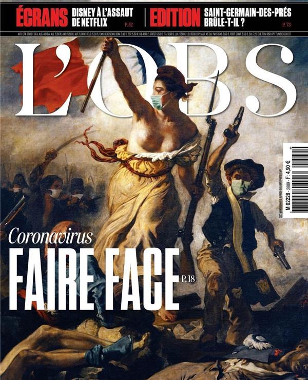法国媒体《LOBS》杂志封面