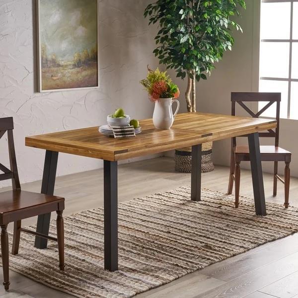相思木矩形餐桌  $242.49