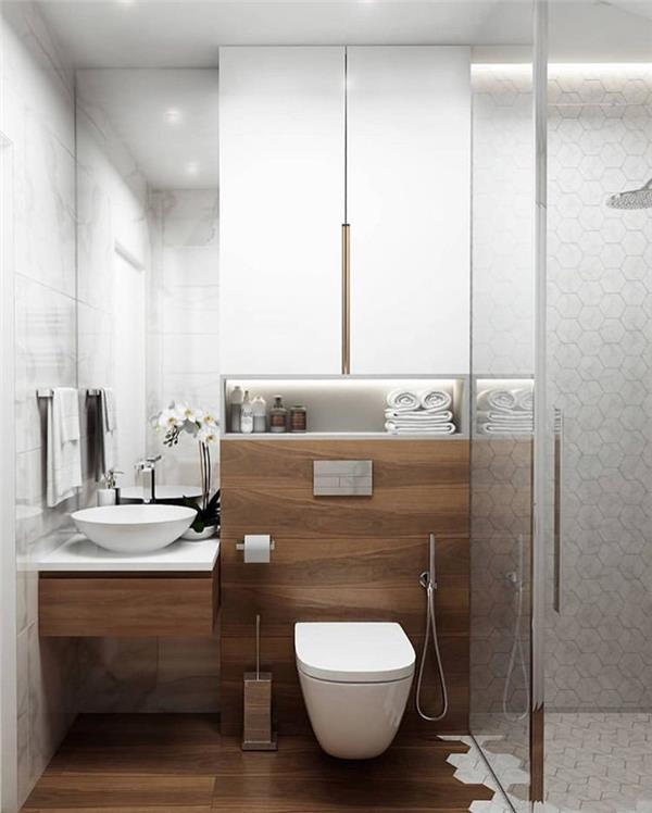 现代简洁的卫生间
