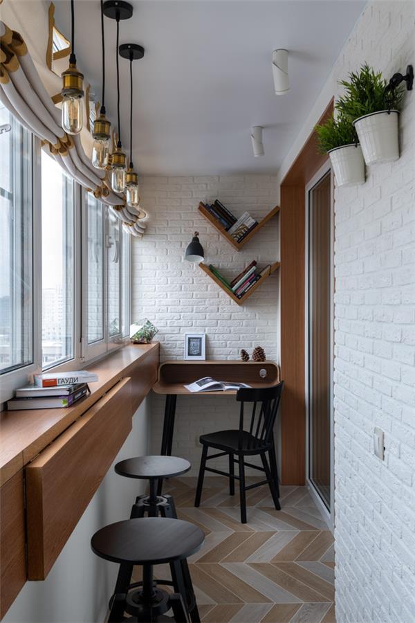 小型时尚公寓阳台