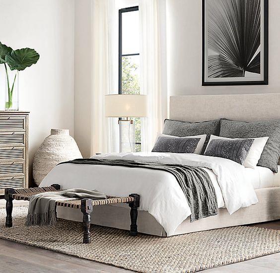 简洁又舒服的卧室