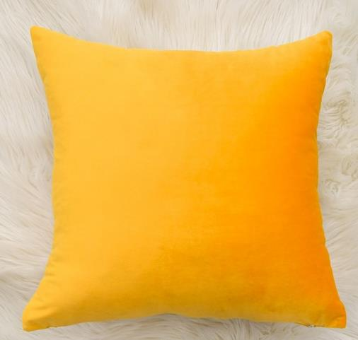 福乐友 纯色加厚丽丝绒抱枕靠垫办公室腰靠枕床头靠背垫天鹅绒抱枕含芯#抱枕