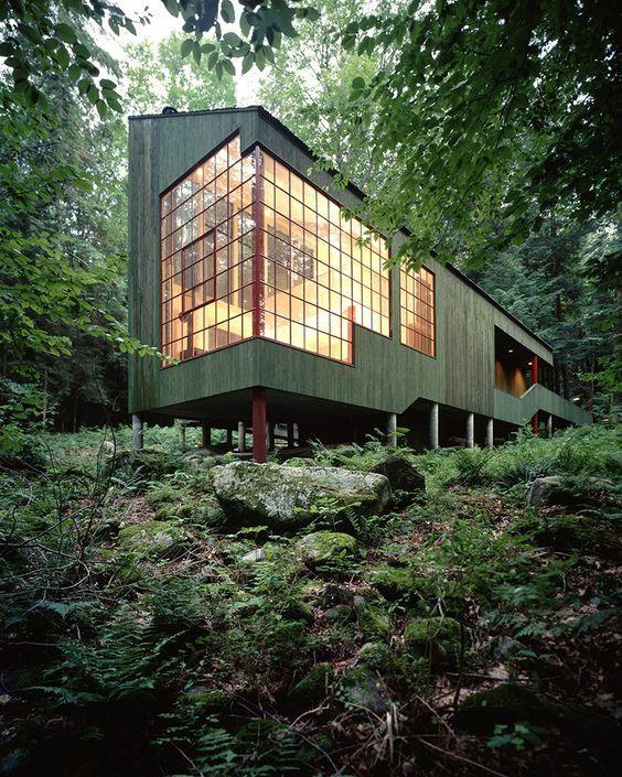 树林里的房子