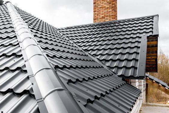 金属屋面效果#坡屋顶 #屋顶 #屋顶设计