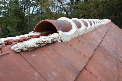 屋脊施工#坡屋顶 #屋顶 #屋顶设计