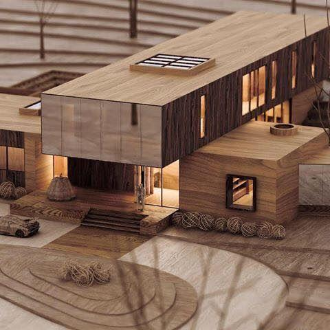 小住宅模型