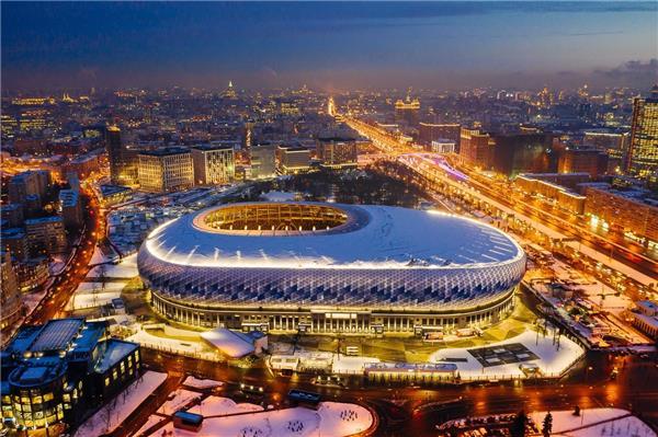 莫斯科迪纳摩体育场#球场 #场馆