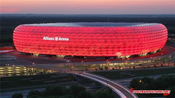 Allianz Arena#球场 #体育景观