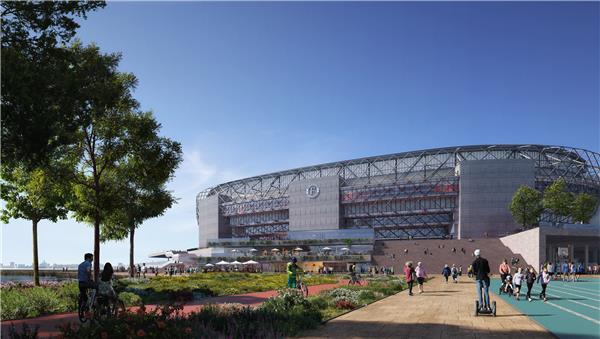 Feyenoord Stadium#球场
