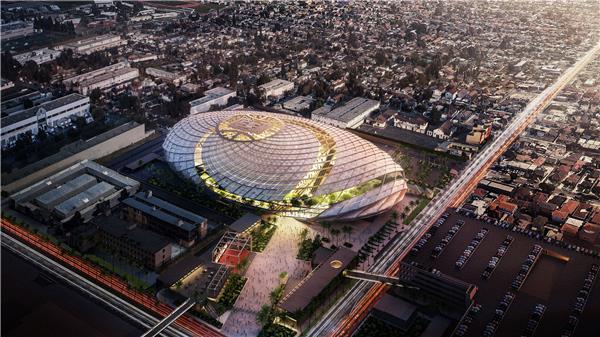 LA clipper运动综合体#球场 #体育景观