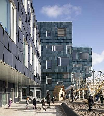 哥本哈根国际学校北校区 / C.F. Moller Architects