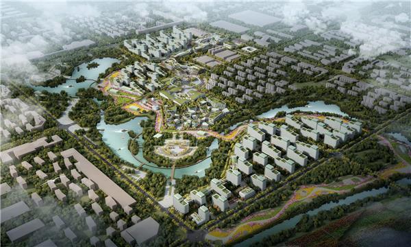 张掖民乐县国家农村产业融合发展示范园策规划 / 袈蓝建筑