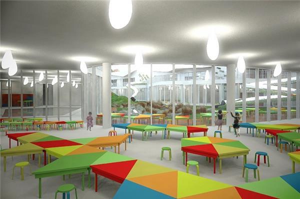 拉脱维亚里加幼儿园 / ARHIS Architects