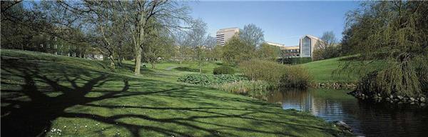 奥尔胡斯大学校园景观