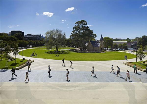 悉尼大学校园景观设计