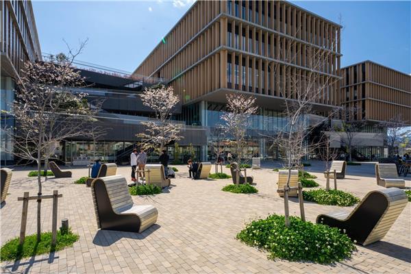 日本常叶大学Kusanagi分校区景观设计