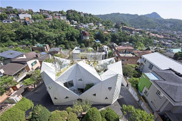 盛开的房子#住宅建筑设计 #居住建筑设计 #别墅设计