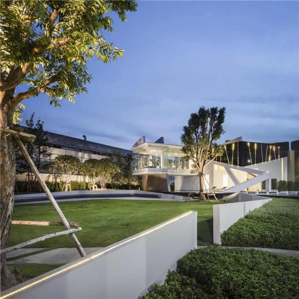 Baan Klang Muang-Suksawat#住宅建筑设计 #居住建筑设计 #别墅设计