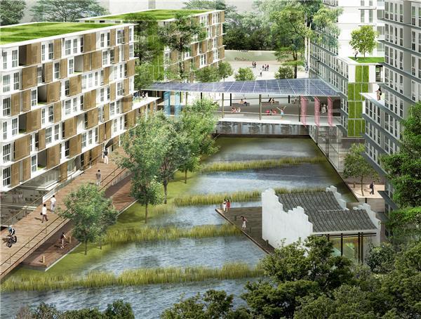 新加坡科技设计大学总体规划