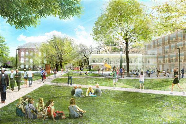 Sasaki作品 凯斯西储大学校园景观