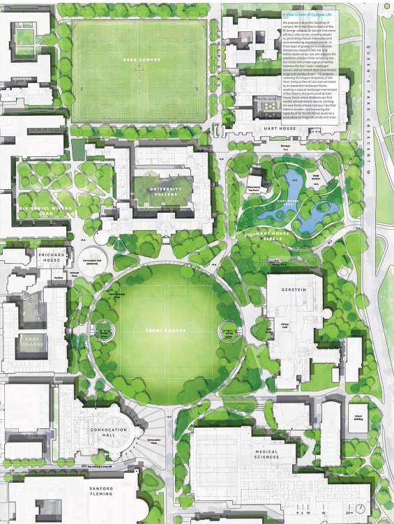 多伦多大学圣乔治校区规划设计_3523087