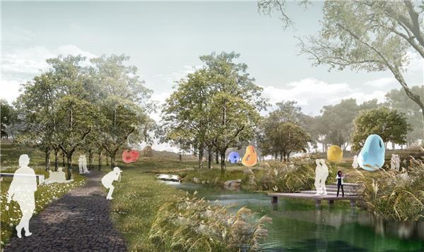 高槐村景观规划