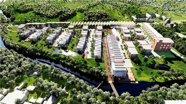 Dalum Papirfabrik社区#郊区化住宅 #住宅规划 #郊区住宅