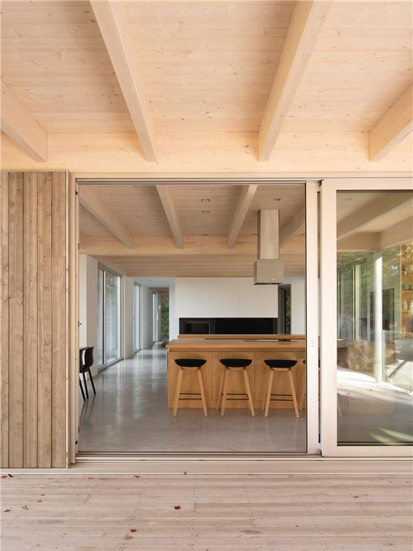 森林住宅 I / Natalie Dionne Architecture