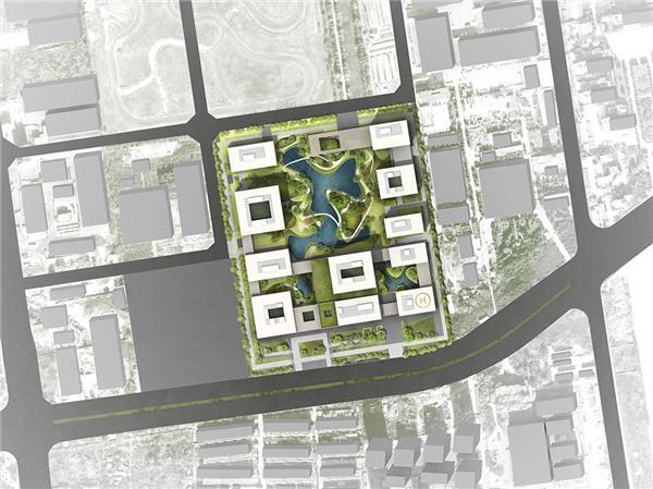 西安   儿童医院(经开院区)概念性方案设计