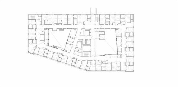 哈拉尔兹普拉斯医院 - 新病房大楼