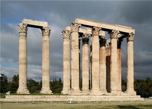 奥林匹亚宙斯神庙遗址_3530632