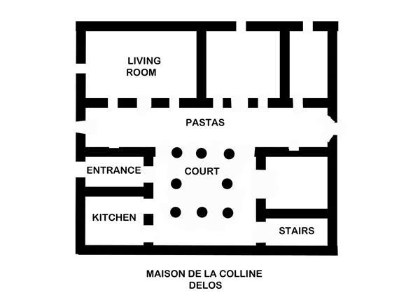 柯林宫平面图,公元前2世纪