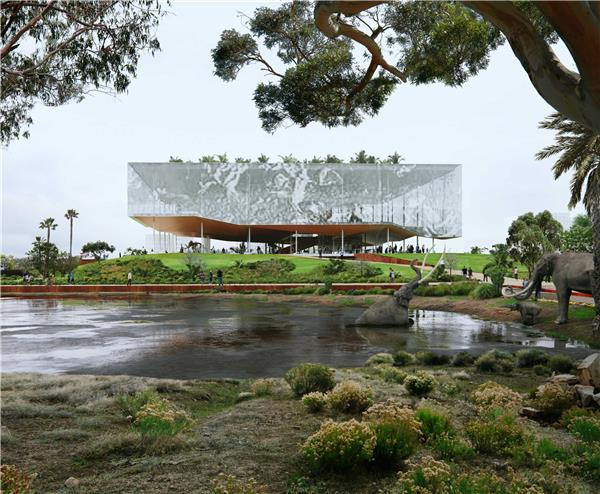 洛杉矶拉布雷亚沥青坑设计竞赛(方案3)