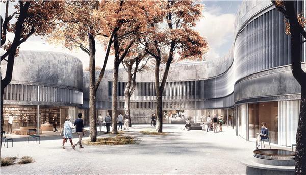柏林国立美术馆新馆设计竞赛(方案3)