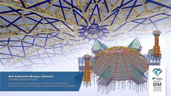 最佳学生项目:加里曼丹新清真寺(印度尼西亚)
