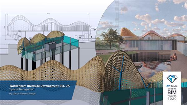 特别奖:Twickenham Riverside开发投标——英国