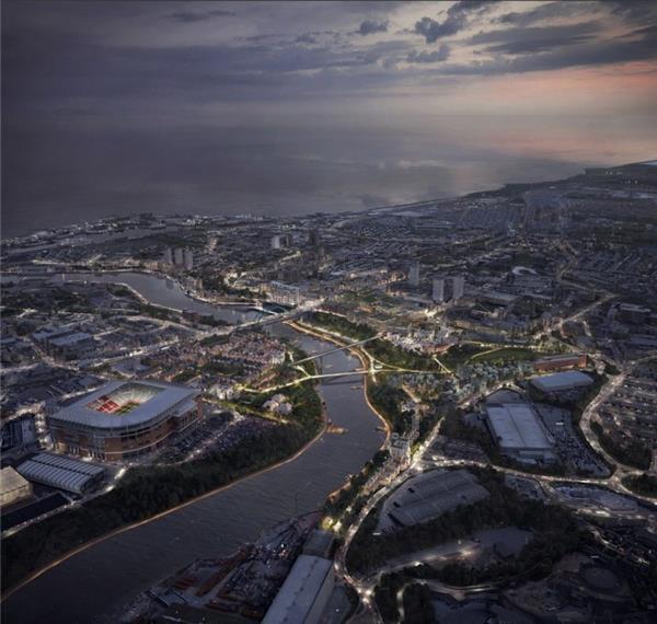 桑德兰河畔公园总体规划