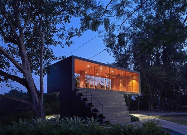 印度滨水会所/阿宾设计工作室