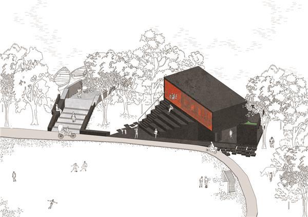 印度滨水会所/阿宾设计工作室_3542659