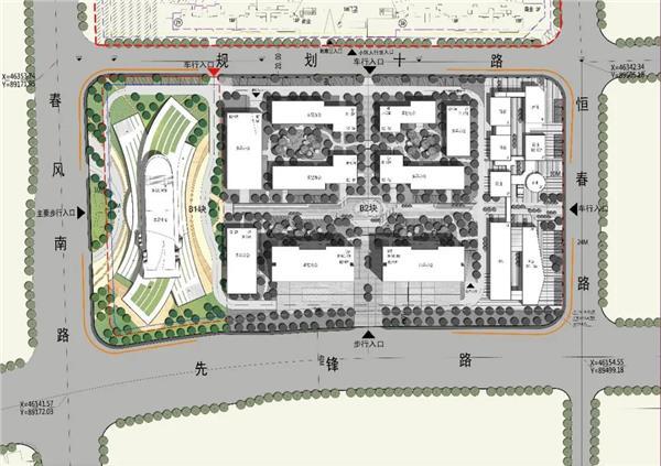 "HMD  ""漂浮""在空中的未来感建筑 | 中国南山·无锡车联网小镇展示中心"