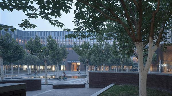 HHDesign  天津大学新校区图书馆