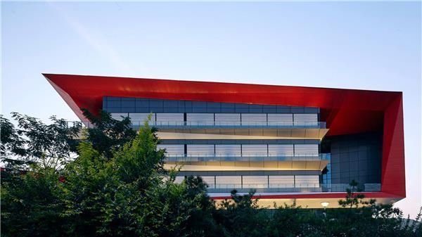 HHDesign  中新生态城中学