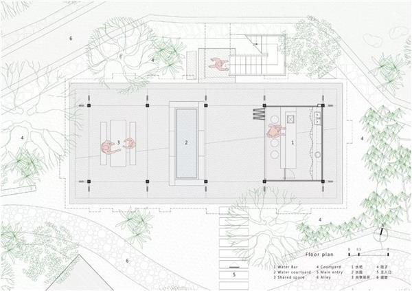 悬浮在村口的书屋 - 拾云山房,浙江 / 尌林建筑设计事务所
