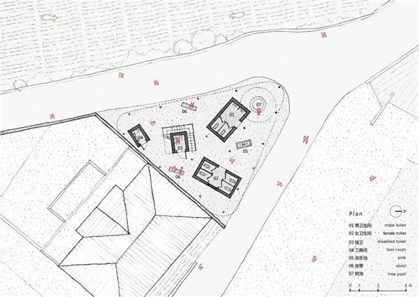 三岔口的公厕,浙江 / 尌林建筑设计事务所